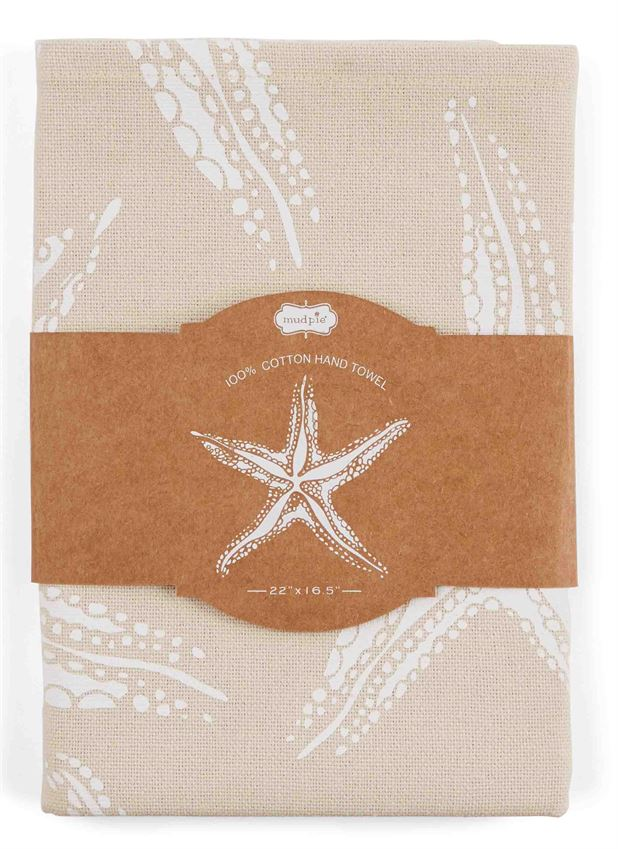 25658 - Block Print Towel -Starfish(2) - $10/each - Received 1