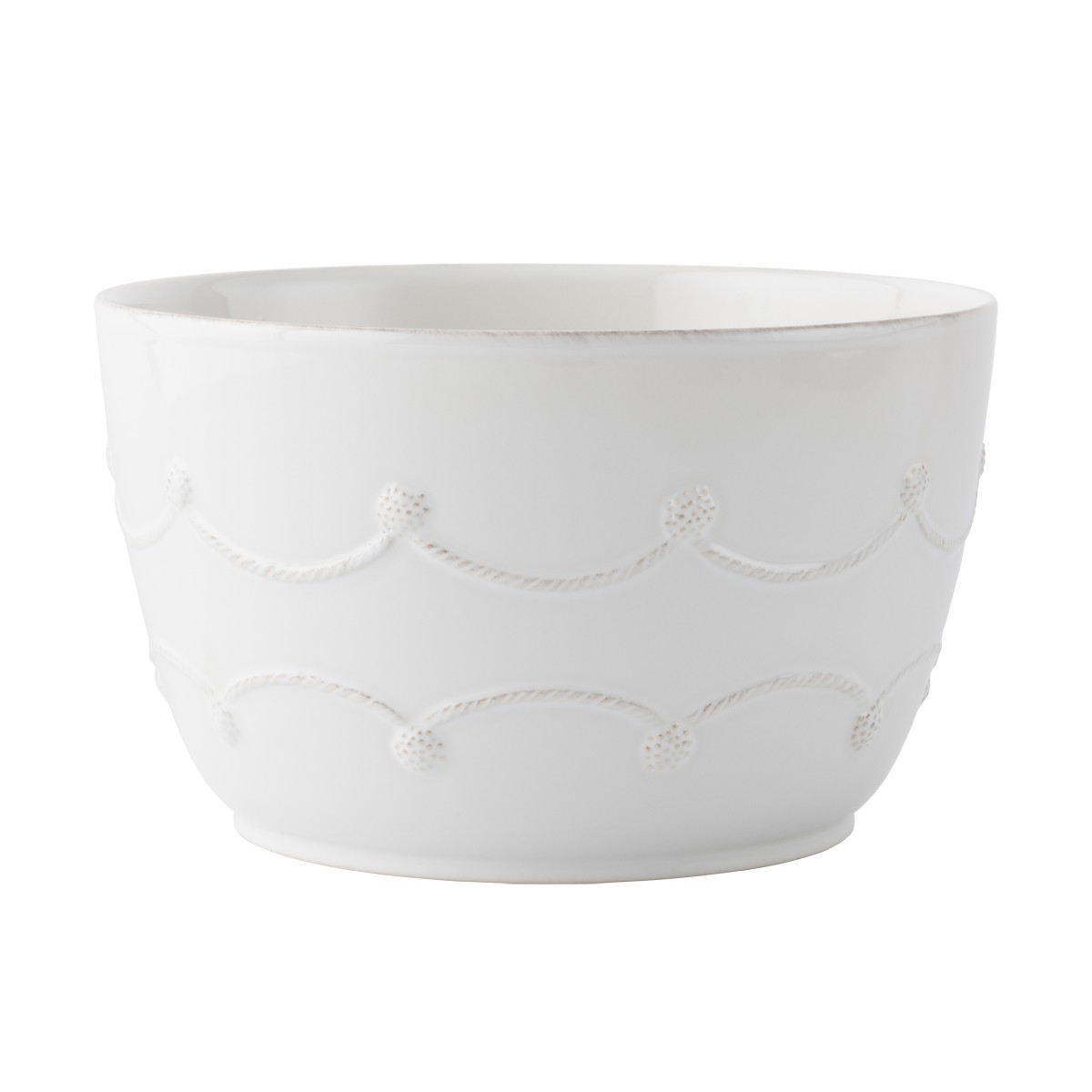 14373 - White Berry & Thread Serving Bowl - $88