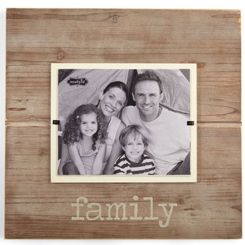 27107 - Wooden Family Frame - $50 - Received