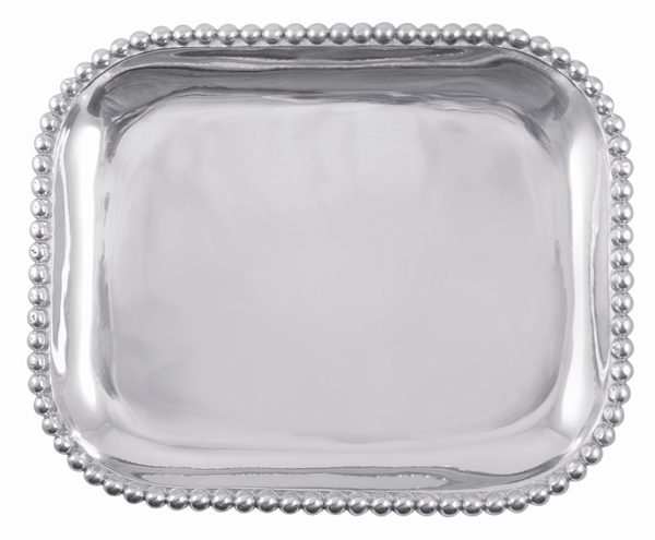2054 - String of Pearls Rectangular Platter - $94 - Received