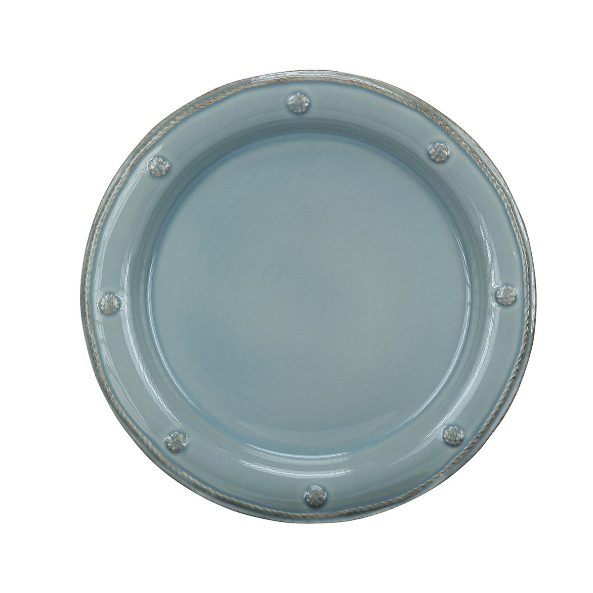 15137 - Berry & Thread Ice Blue Salad Plate (6) - $37/each - Received 6