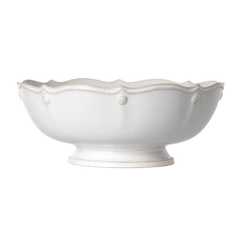 23434 - Berry & Thread White Footed Fruit Bowl - $115 - Received
