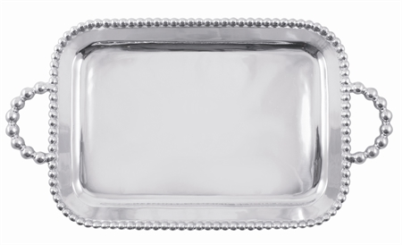 19235 - Pearl Handled Tray with Monogram - $199