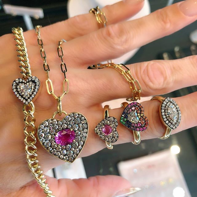 Jemma Wynne's latest collection literally makes my 💗 skip a beat... all new all at #jaimiegellerjewelry