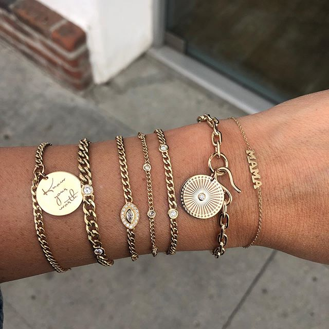 The newest arrivals from #zoechicco literally make us want longer arms... curated just for you at #jaimiegellerjewelry #itsnevertooearlytothinkaboutholidayshopping 💖