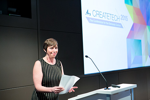 Nancy Hill, 4A's President-CEO Welcome to CreateTech 2015