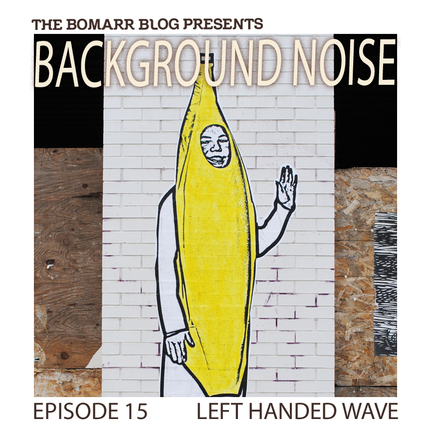 "My new ""Background Noise"" podcast series focuses on the music that artists listen to when they work, what music inspires them, or just music they like. This week, in Episode 15,  the focus is on Chicago-based artist  Left Handed Wave    ."