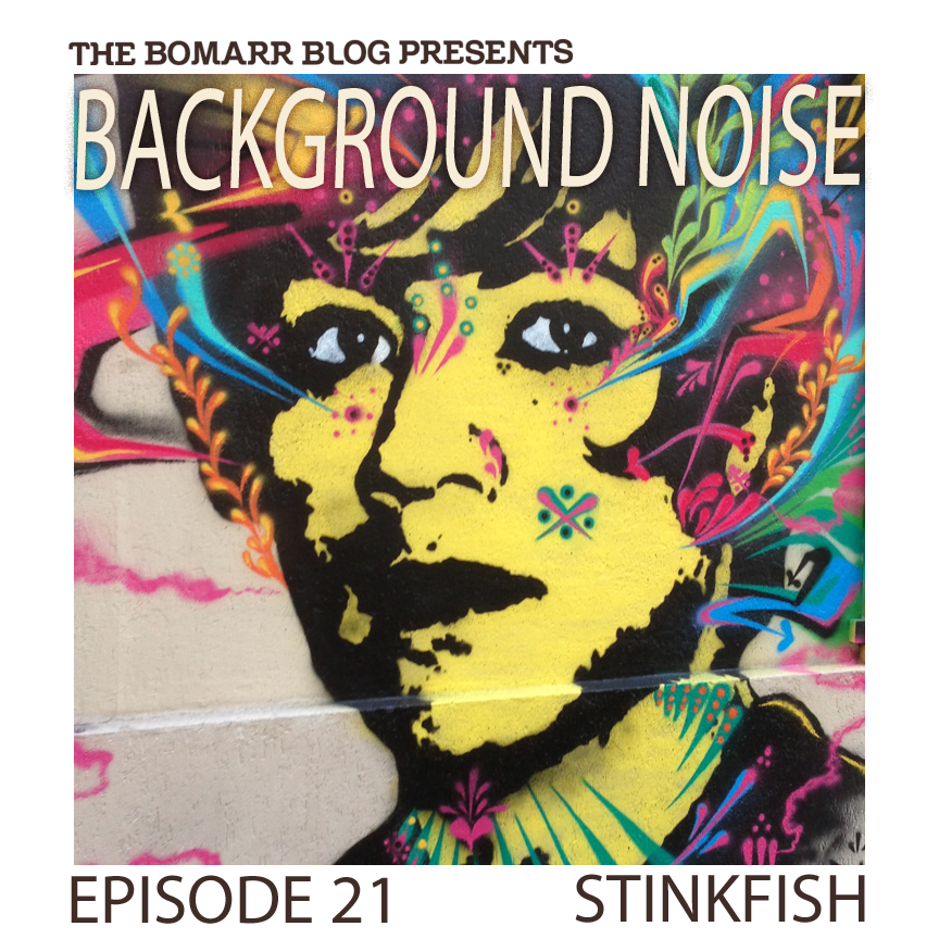 "The ""Background Noise"" podcast series focuses on the music that artists listen to when they work, what music inspires them, or just music they like. This week, in Episode 21, the focus is on Colombian street artist  Stinkfish ."
