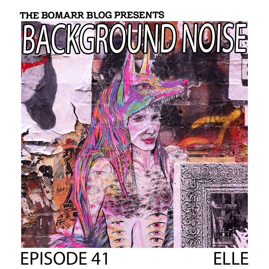 "The ""Background Noise"" podcast series focuses on the music that artists listen to when they work, what music inspires them, or just music they like. This week, in Episode 41, the focus is on New York artist ELLE."