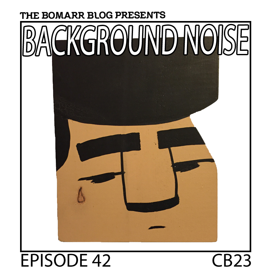 "The ""Background Noise"" podcast series focuses on the music that artists listen to when they work, what music inspires them, or just music they like. This week, in Episode 42, the focus is on New York artist CB23."