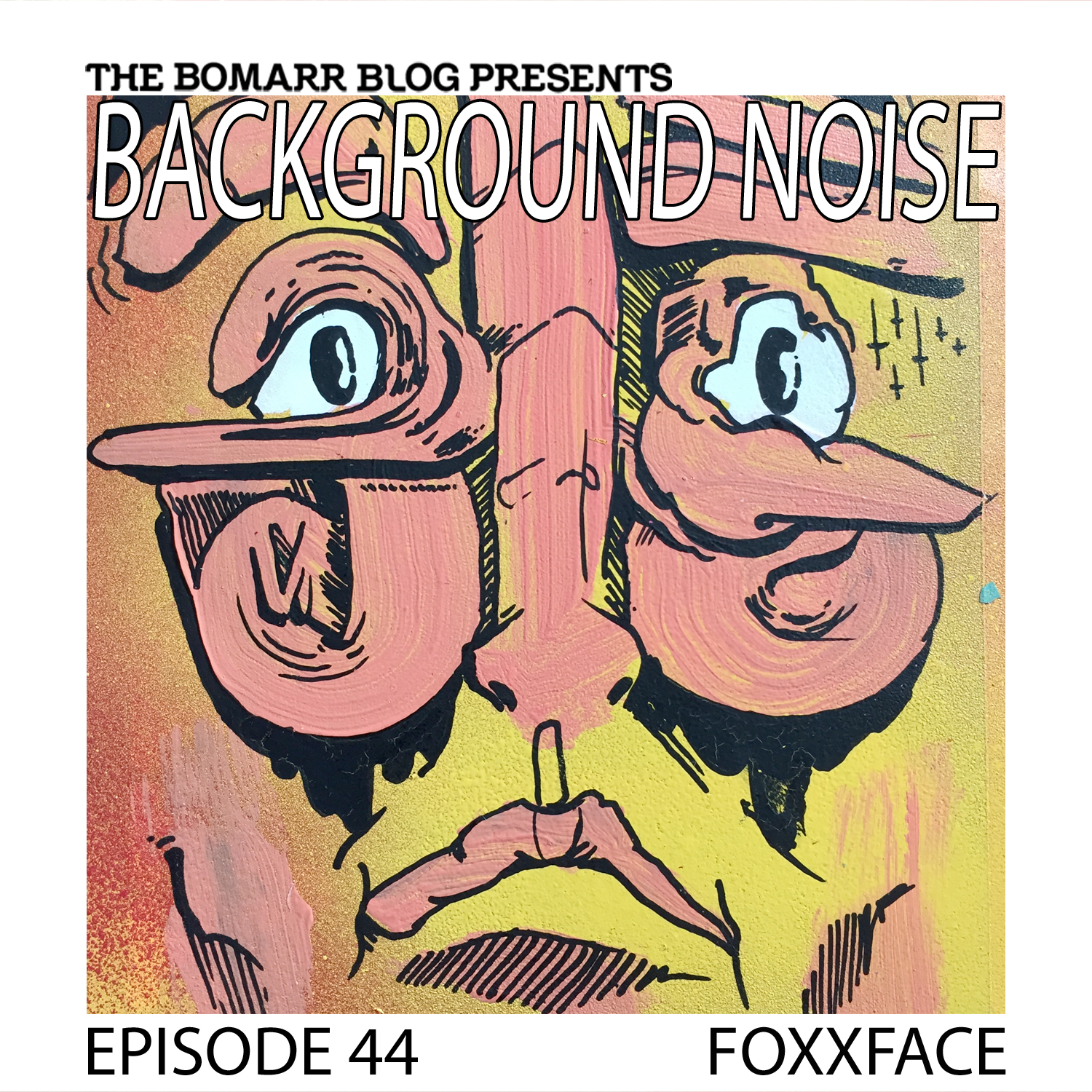 "The ""Background Noise"" podcast series focuses on the music that artists listen to when they work, what music inspires them, or just music they like. This week, in Episode 44, the focus is on New York artist Foxxface.."