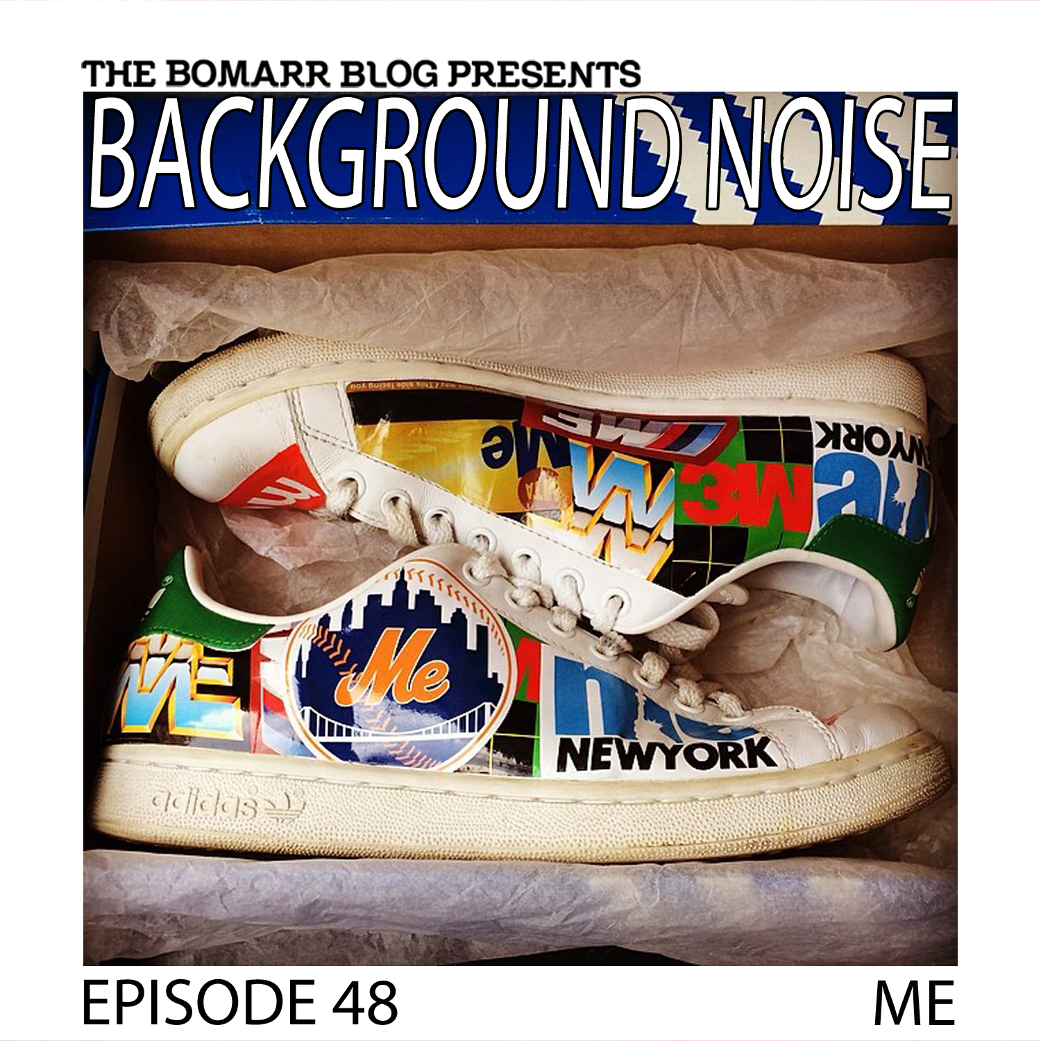 THE BACKGROUND NOISE PODCAST SERIES FOCUSES ON THE MUSIC THAT ARTISTS LISTEN TO WHEN THEY WORK, WHAT MUSIC INSPIRES THEM, OR JUST MUSIC THEY LIKE. THIS WEEK, IN EPISODE 49, THE FOCUS IS ON ARTIST ME