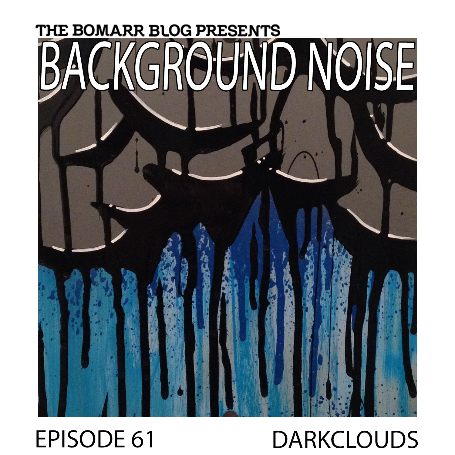 THE BACKGROUND NOISE PODCAST SERIES FOCUSES ON THE MUSIC THAT ARTISTS LISTEN TO WHEN THEY WORK, WHAT MUSIC INSPIRES THEM, OR JUST MUSIC THEY LIKE. THIS WEEK, IN EPISODE 61, THE FOCUS IS ON ARTIST DARKCLOUDS