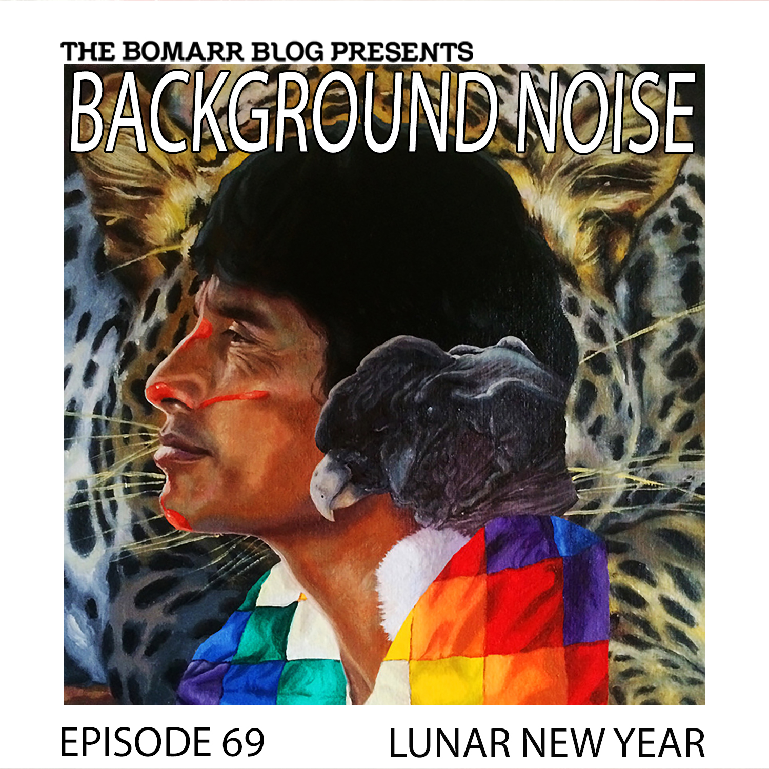 THE BACKGROUND NOISE PODCAST SERIES FOCUSES ON THE MUSIC THAT ARTISTS LISTEN TO WHEN THEY WORK, WHAT MUSIC INSPIRES THEM, OR JUST MUSIC THEY LIKE. THIS WEEK, IN EPISODE 69, THE FOCUS IS ON ARTIST LUNAR NEW YEAR.