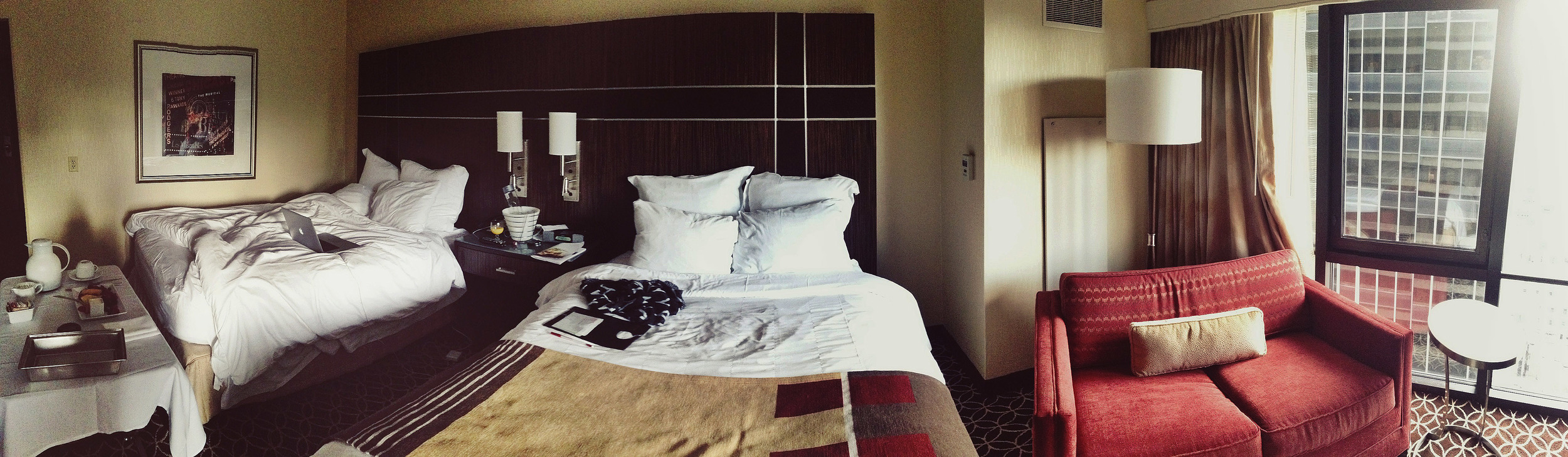 playing around with the Panorama feature on my iphone