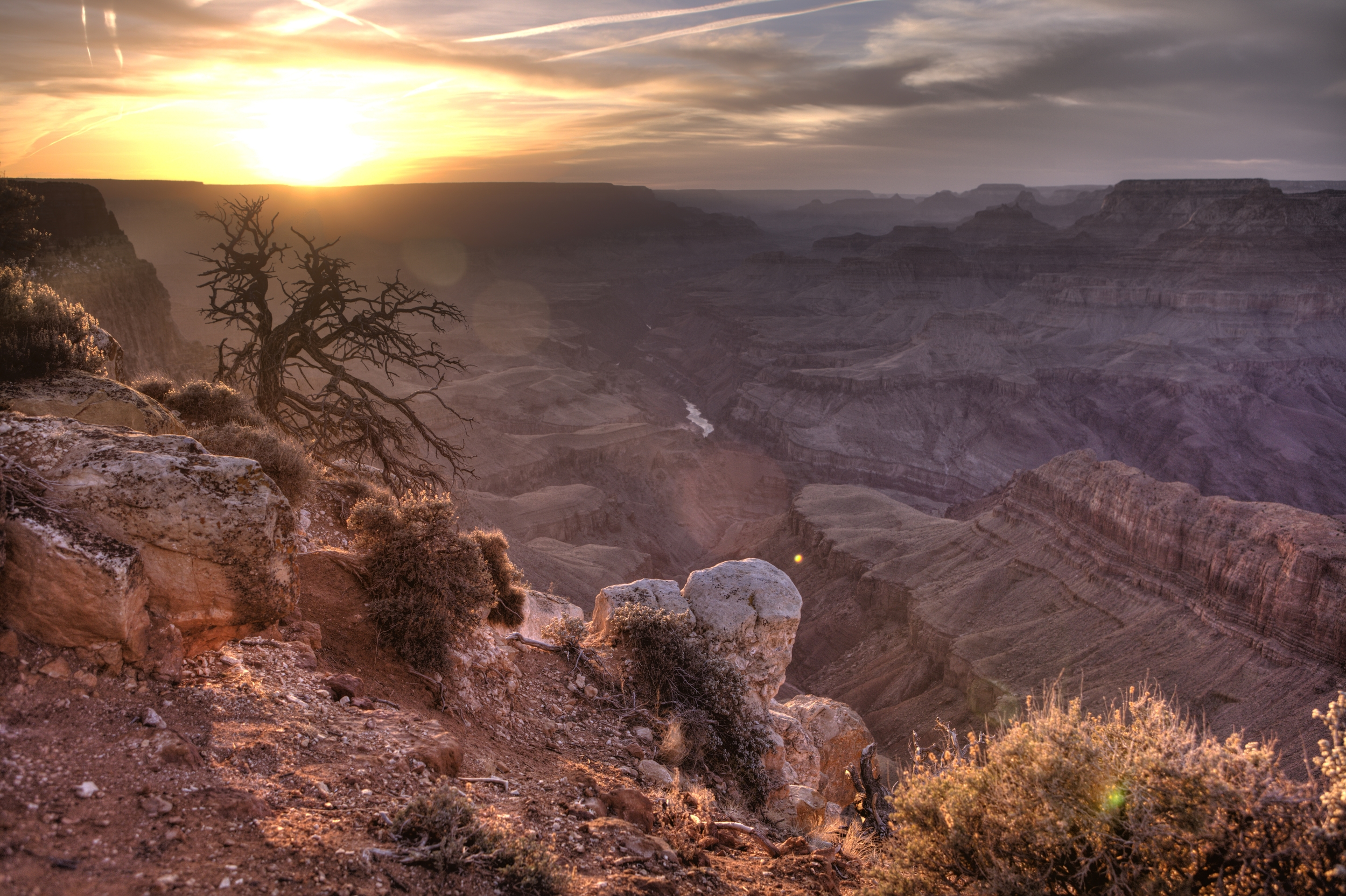 Grand Canyon sunset HDR .jpg