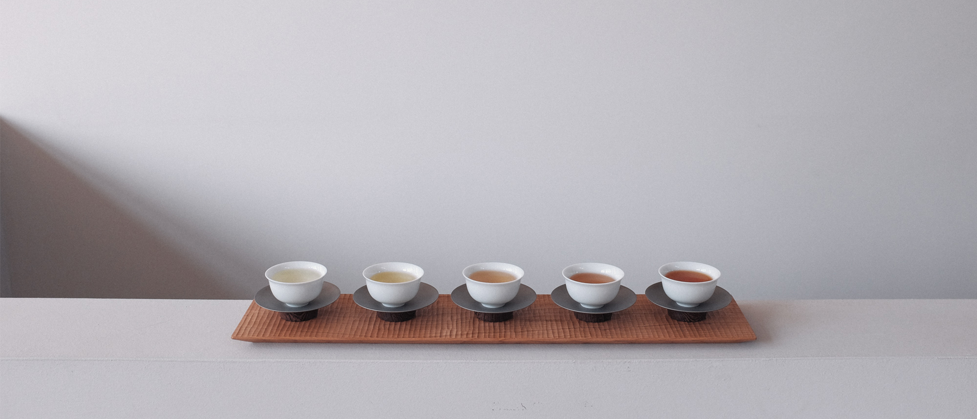'Wu': Five Oolong Teas from Taiwan