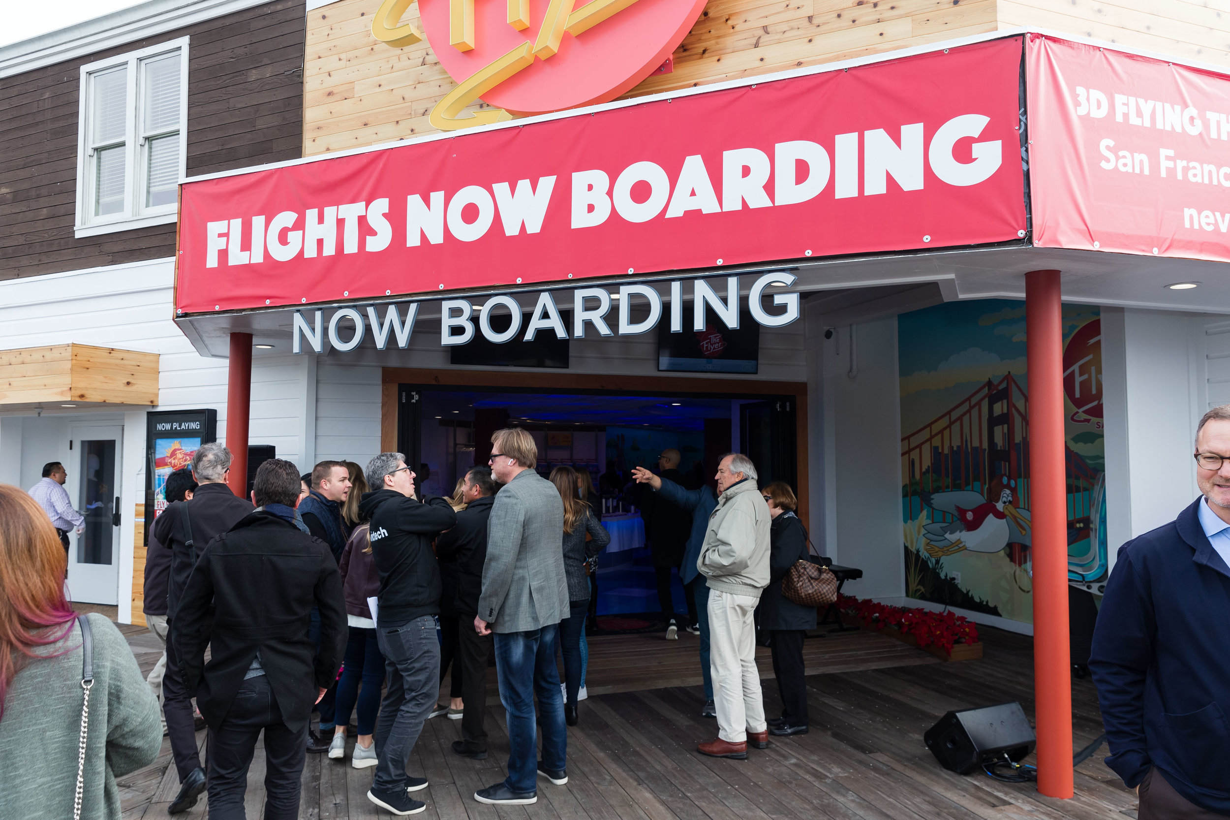 The Flyer - San Francisco is now open at PIER 39