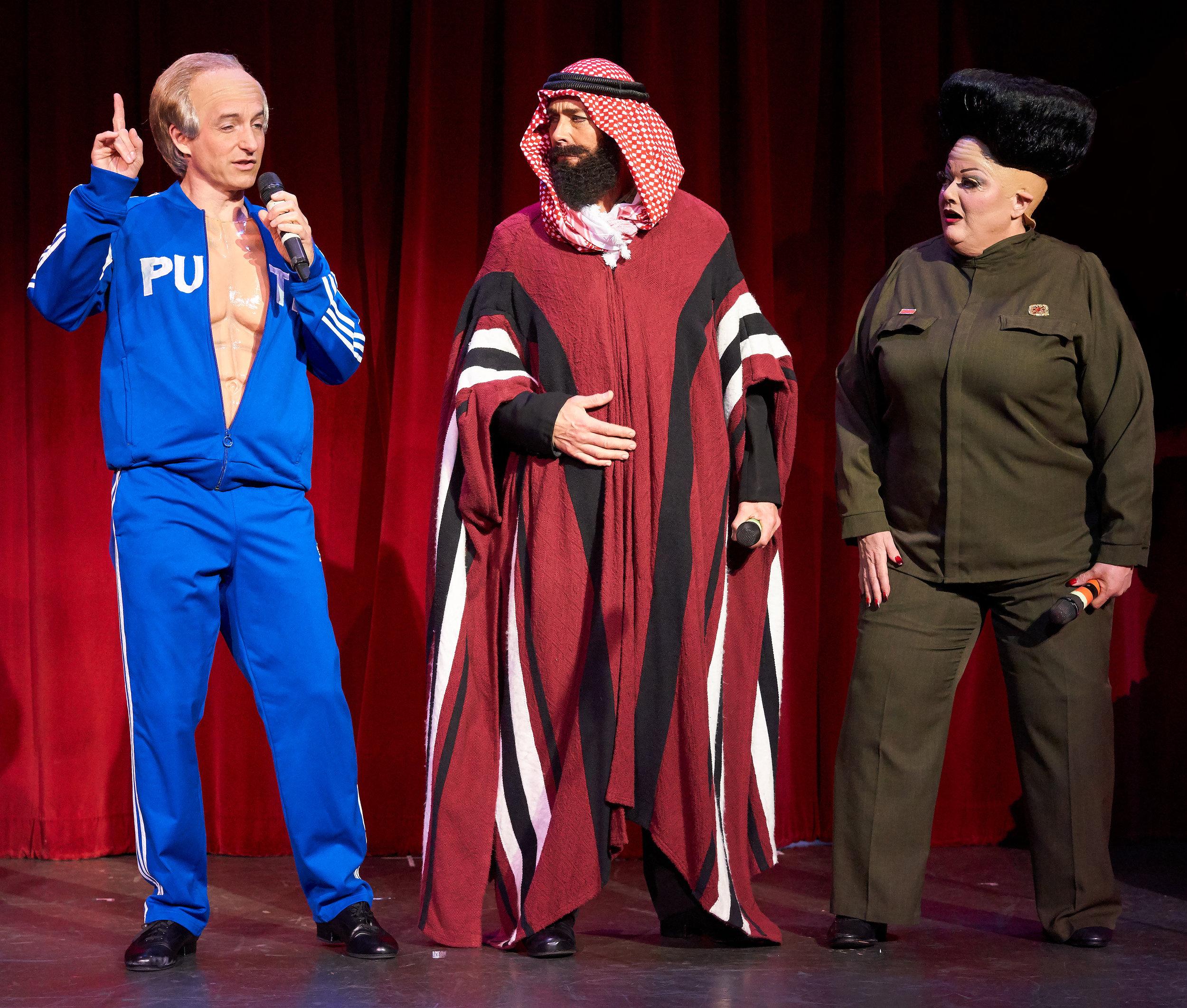 Vladimir Putin, Sheik, Kim Jong-un.jpg