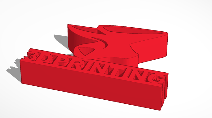 CAD design of thingsmiths card holder