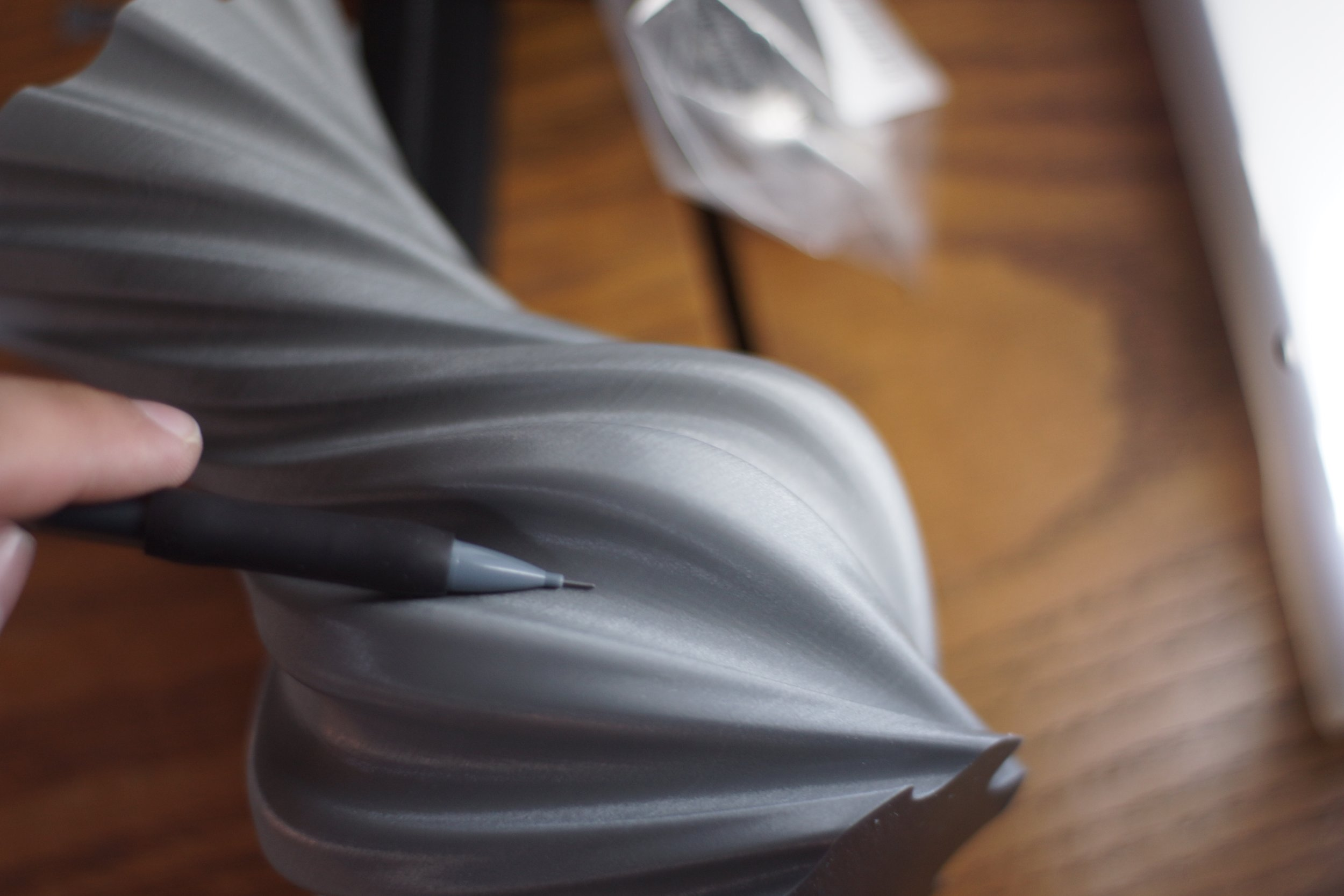 Vase printed in PLA