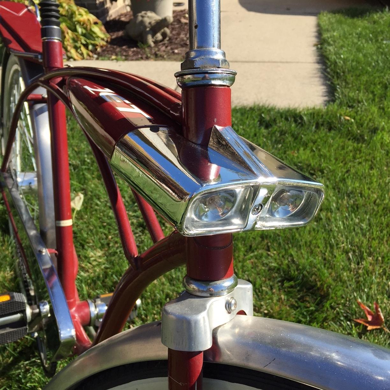3D printed bicycle lamp
