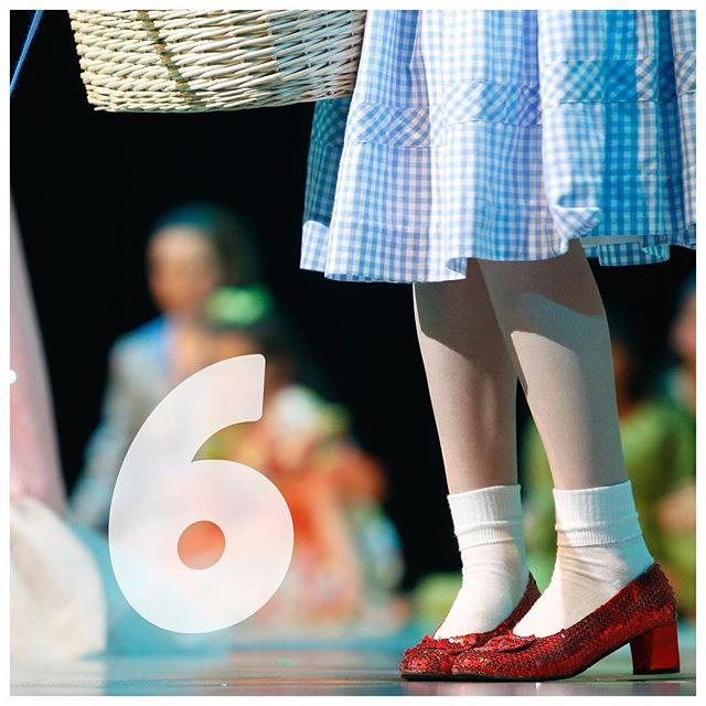 SIX MORE DAYS TO SCHOOL  There's no place like home for theatre students and we can't wait for you all to come home to the PAC stage!