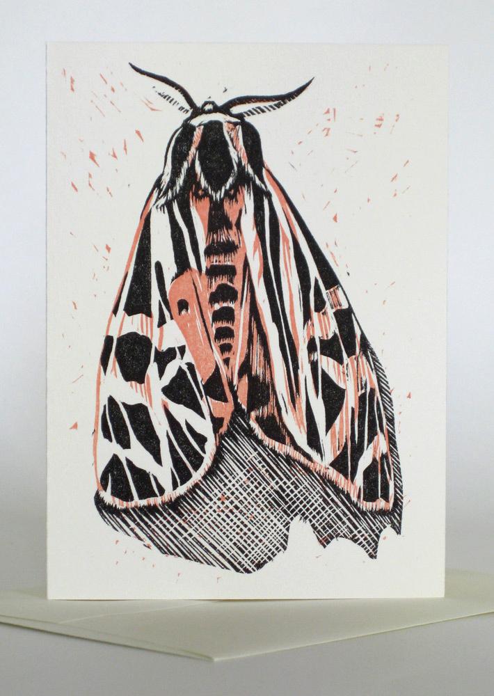 A1 Notecard: Tiger Moth