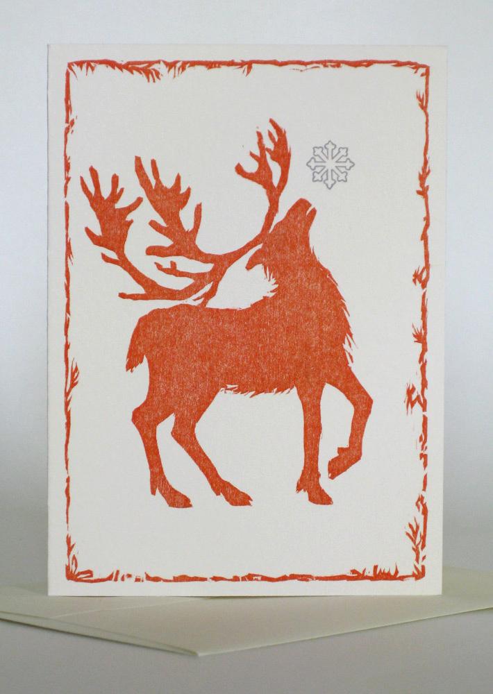 A1 Notecard: Red Deer