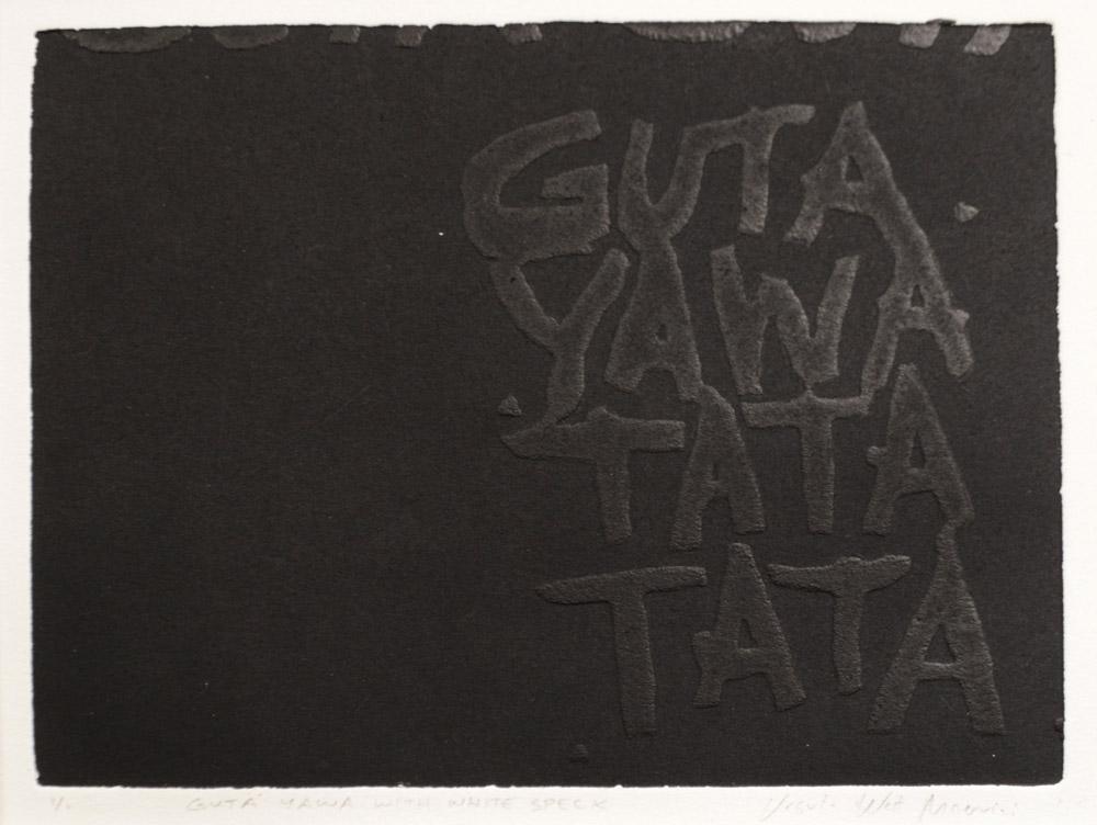 GUTA YAWA WITH WHITE SPECK