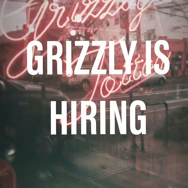 My tattoo shop here in Portland is looking for artists. Rad tattoo shop on busy N Williams, creative people, well stocked and always professional. DM or email, tyler@grizzlytattoo.com thanks! Love you, bye!