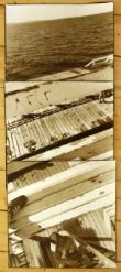 John O'Neil  Eastern Beach Boardwalk  Photograph 128x61cms (unframed $1,500)