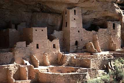 Mesa Verde's Cliff Palace, S.W. Colorado