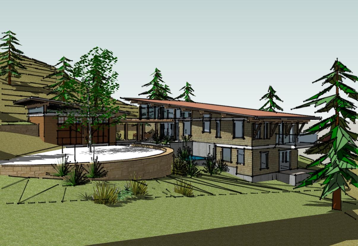 MacIntosh Residence, Lantzville