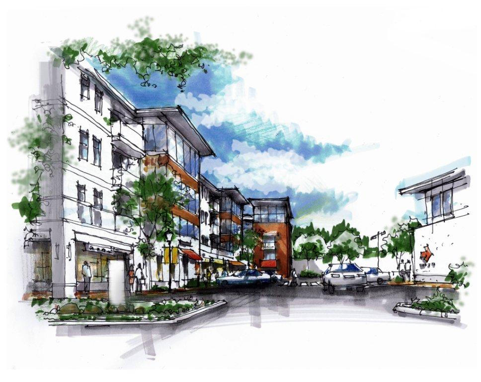 Parksville Mixed Use - Rezoning
