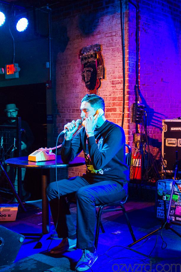 "Gentle Jamie performing ""Donnie Yen"" at E. Rose Album Release Show - Fulton 55, Fresno, Ca."