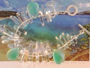 The Tropics Rain drops bracelet from the My Favorite Islands collection.