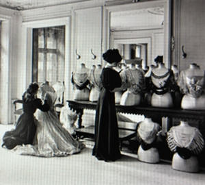 couture atelier early 1900s