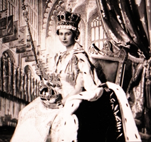 Coronation scenes photos by Cecil Beaton. photo credit: see below