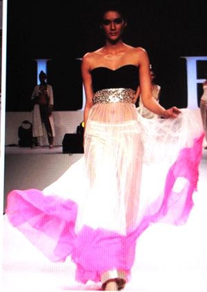 One of my favorite Looks of this runway by Babitha B.