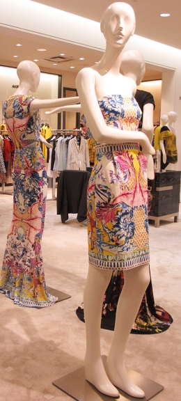 Patterns of Positano for Cavalli's Spring 2013 collection.