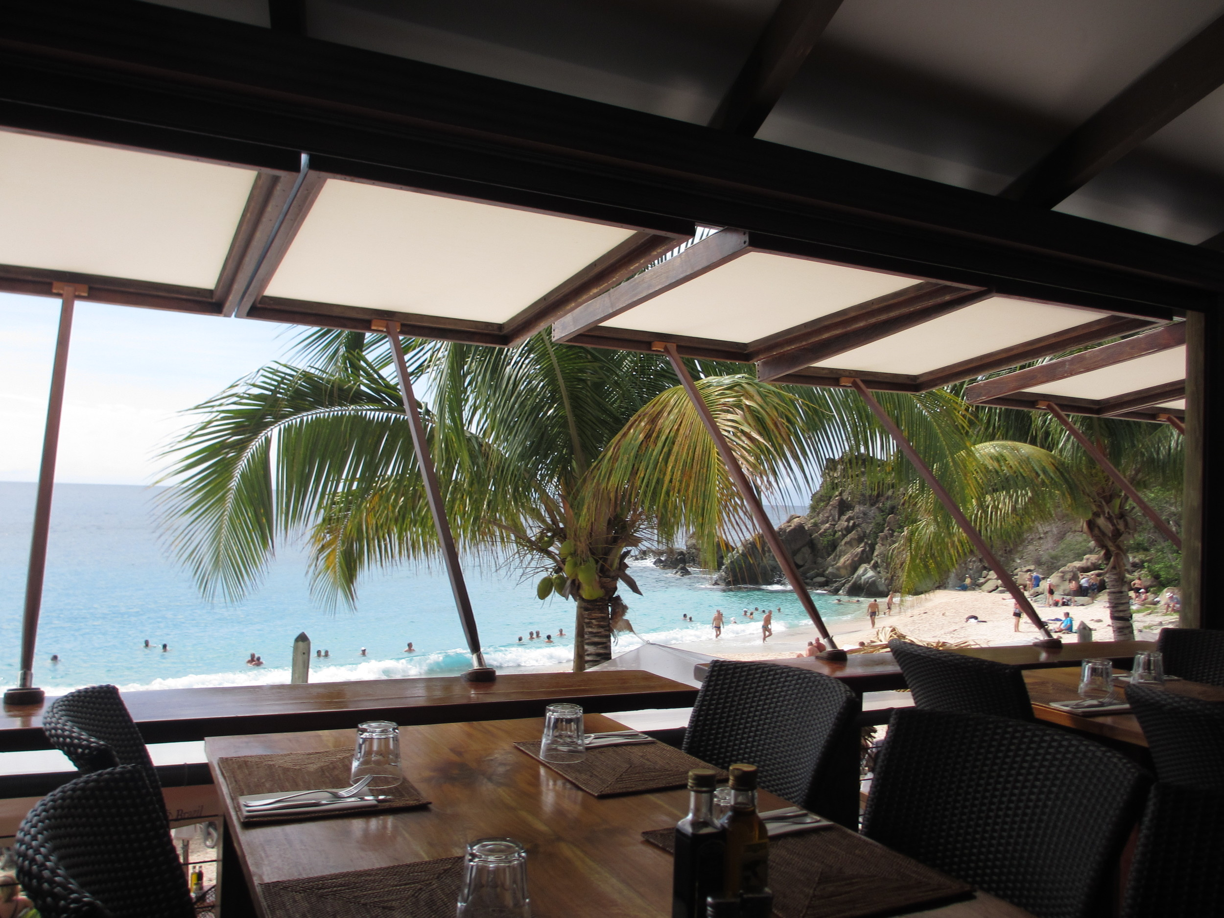 Ocean view upstairs at Do Brazil Shell Beach STB