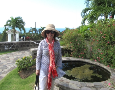 our excursion to Plantation House on St. Kitts