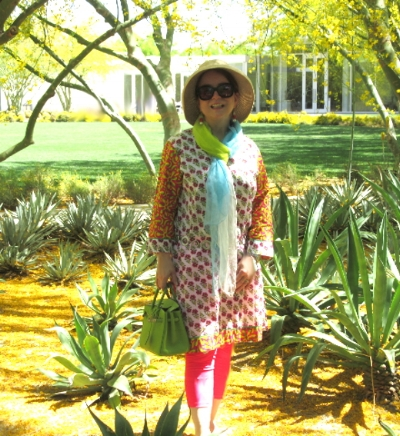 Yellow for Spring at Sunnyland Visitor Center and gardens