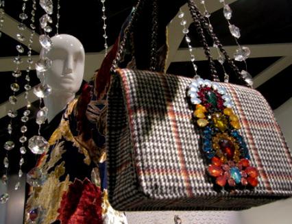 Fabulous bejeweled bag
