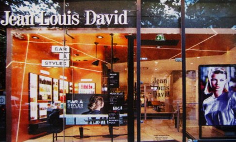 Jean Louis David salon today