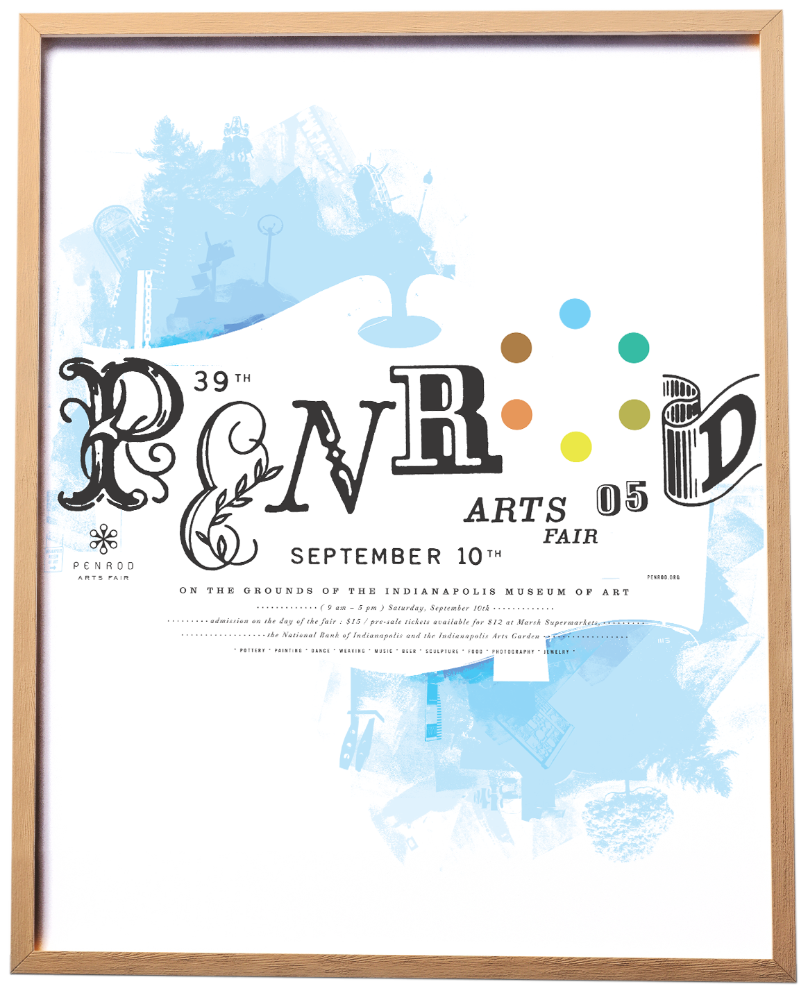 Penrod Arts Fair Poster 2005 : Funnel.tv | Eric Kass
