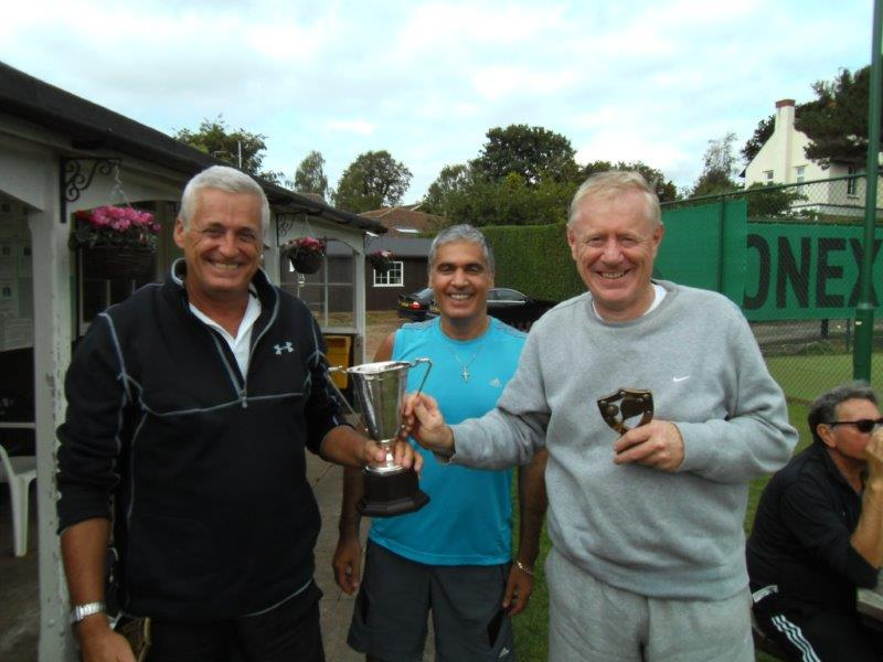 Winners Johnston Cup 2013 Tony Wood & Tim Bowler.