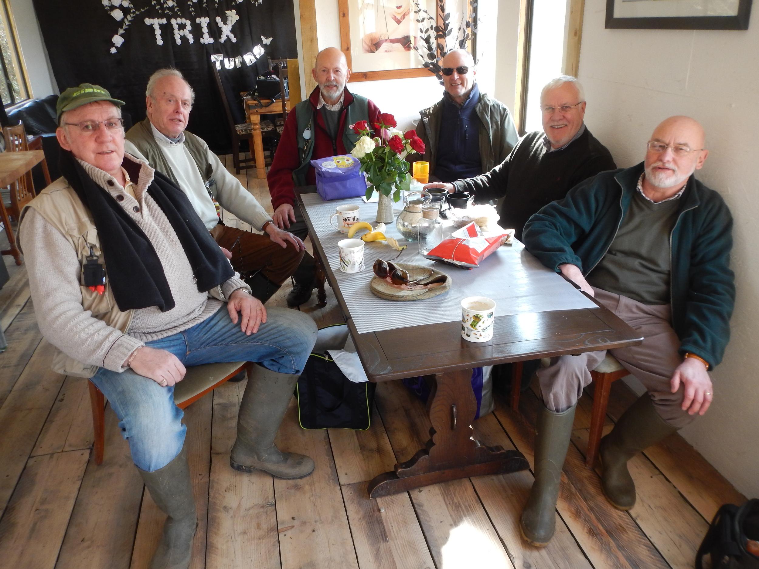 Robert, Granville, Gerry, Alan, Tony