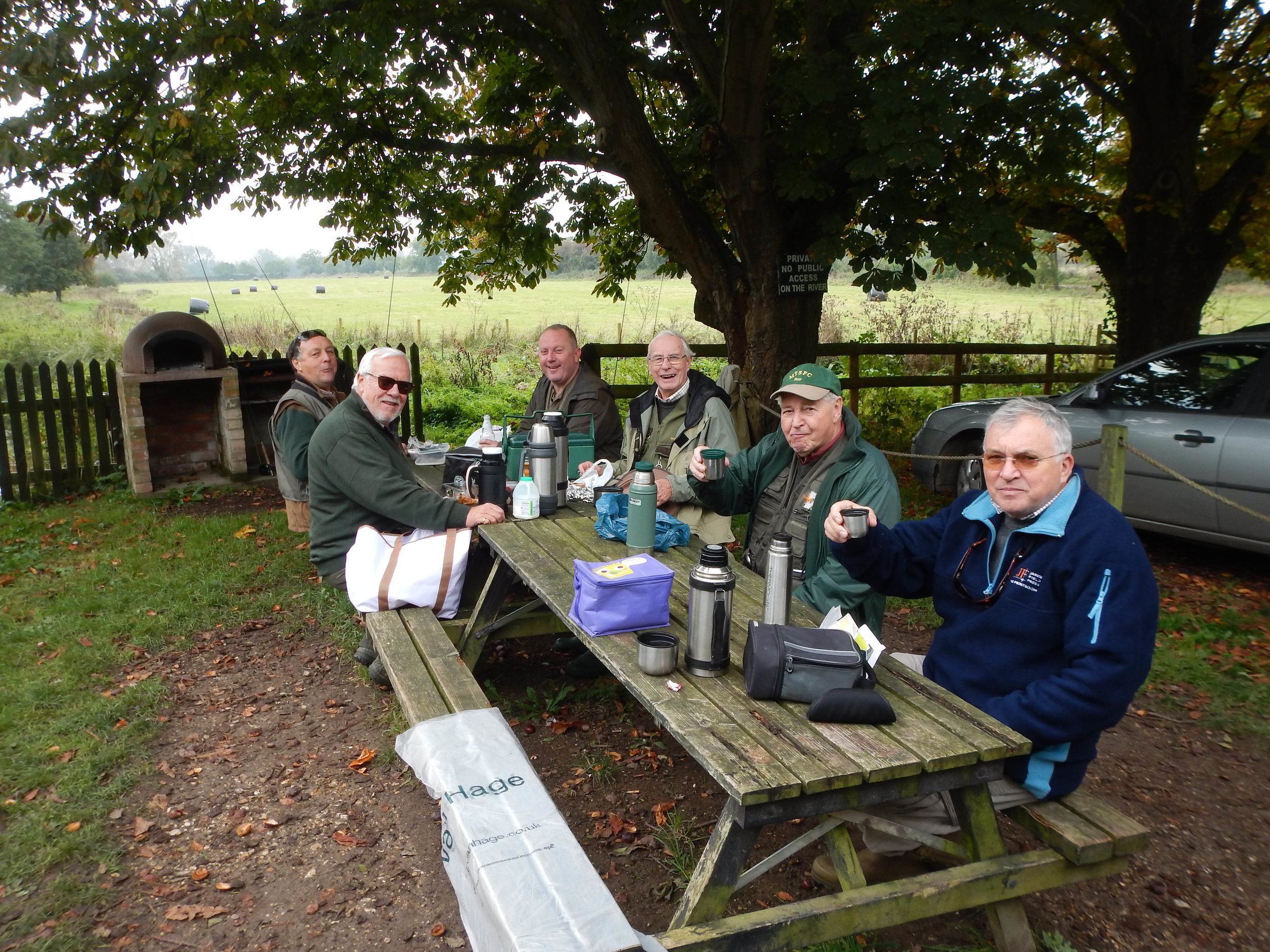 Lunch - Gary, Alan, Keith, David, Roy, Bill